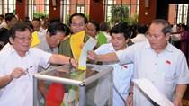 Chiều mai, Quốc hội công bố kết quả lấy phiếu tín nhiệm