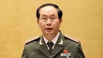 """Đại tướng Trần Đại Quang: """"Giữ vững an ninh quốc gia trong mọi tình huống"""""""