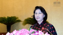 Bà Nguyễn Thị Kim Ngân chính thức trở thành Chủ tịch Quốc hội khóa 14
