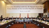 Thủ tướng Nguyễn Xuân Phúc đối thoại với các doanh nghiệp Đức