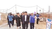 Chủ tịch Hà Nội kiểm tra tiến độ dự án nhà máy nước hiện đại nhất Thủ đô