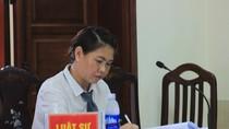 Luật sư Phan Thị Hương Thủy đang chờ trả lời của Bộ Tư pháp