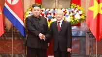 Tổng Bí thư, Chủ tịch nước hội đàm với Chủ tịch Triều Tiên