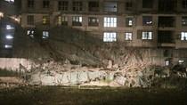 Video hiện trường vụ sập dàn giáo tòa nhà 31 tầng