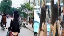 Phát hoảng: Những kiểu ăn mặc phản cảm của các cô gái khi ra đường(P3)