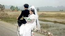 Bà Diệu Hiền liệu có xem những hình ảnh về đám cưới giản dị thời xưa?