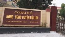 Bí thư huyện Hậu Lộc biết rõ những sai trái trong vụ đánh úp giáo viên
