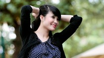 Em gái Công Vinh lãng mạn trong chiều thu Hà Nội (kỳ 1)