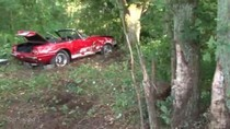 Siêu xe hiếm của Ferrari 'tử nạn' vì lao vào gốc cây