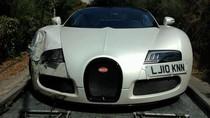 Ông hoàng tốc độ Bugatti Veyron 'nát đầu' sau tai nạn