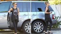 Siêu mẫu thế giới Heidi Klum sành điệu với Range Rover mới