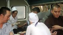 Chư Tăng, Phật tử TPHCM tham gia ngày hội hiến máu cứu người