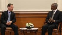 Tổng thống Medvedev: Sứ mệnh của Annan là cơ hội cuối cùng cho Syria