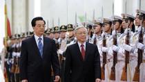 Ảnh: Tổng Bí thư Nguyễn Phú Trọng thăm Trung Quốc