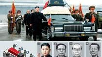 7 nhân vật quyền lực đứng quanh linh cữu Chủ tịch Kim