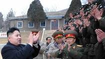 Ảnh: Kim Jong Un thị sát sư đoàn tăng nhân dịp đầu Xuân