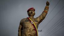 Tượng đài Hugo Chavez xuất hiện trên đỉnh núi cao nhất Cuba