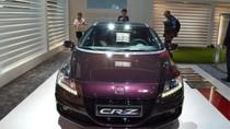 Ra mắt xe Honda CR-Z Hybrid mới sang trọng và nữ tính hơn