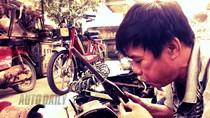 Diện kiến cao thủ sửa xe cổ đất Hà Thành