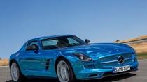 Vẻ ngọc ngà của siêu xe Mercedes SLS AMG giá hơn nửa triệu đô