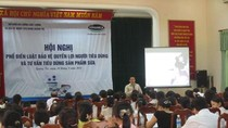 Vinamilk hỗ trợ phổ biến luật bảo vệ người tiêu dùng tại Quảng Trị