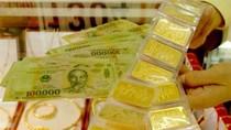 Vàng trong nước cao hơn quốc tế 4,5 triệu đồng/lượng