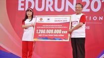 """Edurun 2015 """"đại thắng"""" với 1,2 tỷ đồng gây quỹ xây lớp học vùng cao"""