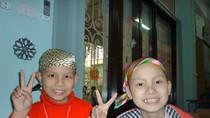 Lớp học Hy vọng ngập tràn niềm vui trong buổi học đầu năm mới