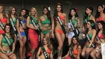 Thí sinh Hoa hậu Trái đất gợi cảm với bikini
