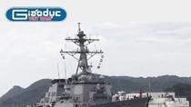 Infographic: Sức mạnh của chiến hạm Mỹ tới Việt Nam sáng nay