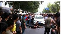 Trung Quốc có thể tử hình kẻ biểu tình tấn công chủ xe Nhật