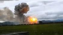 Video: Nổ kho thuốc pháo hoa, rung chuyển hàng trăm nhà dân ở Phú Thọ