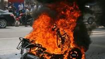 Nguyên nhân cháy nổ xe: Do nhiên liệu?