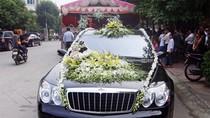 Lại xuất hiện dàn xe sang rước dâu gần trăm tỷ ở Ninh Bình
