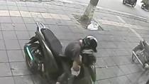 Video: Diễn biến vụ trộm xe SH bất thành ở phố Trần Duy Hưng - Hà Nội