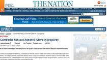 Báo Thái Lan: Campuchia đẩy ASEAN vào một tương lai nguy hiểm