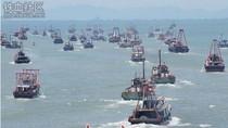 """Biển Đông: 9000 tàu cá TQ mở màn chiến dịch """"biển người trên biển"""""""