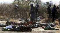 Cảnh sát Nam Phi nổ súng trấn áp biểu tình 36 người chết