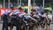 """Trung Quốc: """"Cảnh khuyển"""" diễn tập bảo đảm an ninh đại hội 18"""