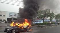 Dân Trung Quốc tự đốt xe hơi, đập ti vi phản đối Nhật Bản