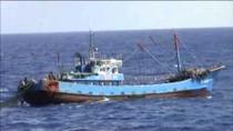 Nhật Bản bắt 1 thuyền trưởng tàu cá Trung Quốc nộp phạt