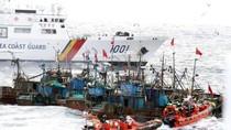 CSB Hàn Quốc vây bắt 11 tàu cá Trung Quốc xâm phạm lãnh hải