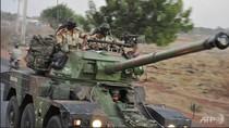 Xe bọc thép Pháp đã kéo vào Mali tham chiến