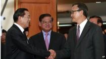 Hun Sen - Sam Rainsy hội đàm 5 giờ liên tục, CNRP tiếp tục biểu tình