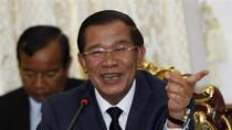 Hun Sen cười rạng rỡ khi họp với Sam Rainsy, CPP quyết không nhượng bộ