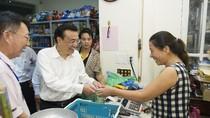 Ảnh: Thủ tướng Trung Quốc đi mua sắm ở Hà Nội