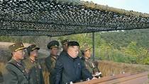 Video: Kim Jong-un trực tiếp quan sát, chỉ đạo tập trận bắn đạn thật