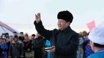 Ảnh: Tập Cận Bình chủ lễ cầu mưa thuận gió hòa theo nghi thức Mông Cổ
