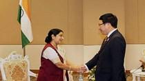 Ngoại trưởng Ấn Độ thăm Việt Nam, thúc đẩy hợp tác kinh tế-quốc phòng