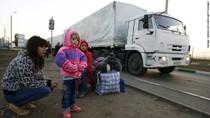 Đông Ukraine vẫn giao tranh, xe tải Nga ra vào tự do không kiểm soát